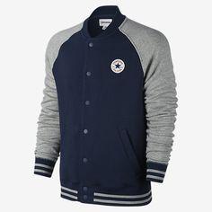 Converse Chuck Patch Snap Baseball Men's Jacket
