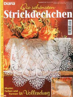 Diana Spezial - Strickdeckchen D2240 | Martinas Bastel- & Hobbykiste