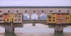 Risultati immagini per dipinti ponte vecchio