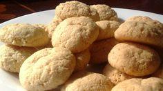 Receta para preparar galletas de almendras. Cocinando con María Elena Lugo