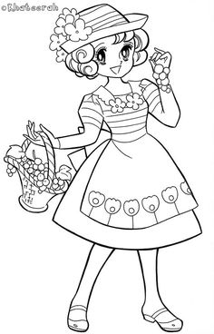 Colouring-Page48 | Khateerah | Flickr Cute Coloring Pages, Coloring Sheets, Coloring Books, Doll Crafts, Paper Dolls, Activities For Kids, Art Drawings, Concept, Disney Princess