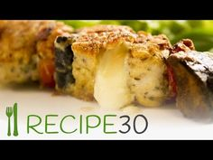 CHICKEN AND EGGPLANT KEBABS - Watch me ooze! - YouTube