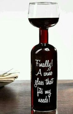 Wine glass... #design #humor