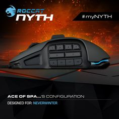 #myNYTH setup! Build your own Nyth Modular MMO Gaming Mouse