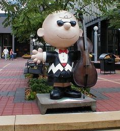 "Charlie Brown: Charlie Brown Gets on ""Bass"""