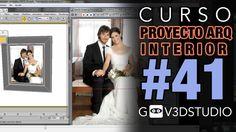 3ds max Proyecto Arquitectura Interior -41- Correcciones generales PARTE 03