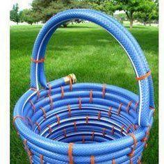 repurposed garden hose