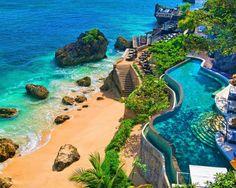фото, отдых, бали, пляж, отель, камни, курорт, красиво