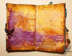 Journal on Monday week 112 - art journaling http://www.france-papillon.com/