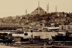 Muhtesem Suleymaniye...ve Bayazit Kulesi...