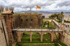 Montjuïc Castle - Standing on a vantage point 173 metres above the port, Montjuïc Castle commands stunning views of the city. Now a peaceable place, the memory of this fortress endures in Barcelona as a symbol of repression but also of the city's struggles during different periods in its history.