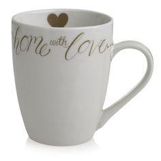 Wilko Love Heart Mug