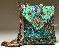 Beautifully constructed bags in gorgeous color combinations featuring Nancy Faris' pin weaving--see them at FAB 2014!