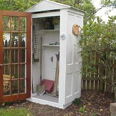 Salvage chic. Create a tool or garden shed with 4 doors. OUTDOORS MultiCityWorldTravel.Com For Hotels-Flights Bookings Globally Save Up To 80% On Travel Cost