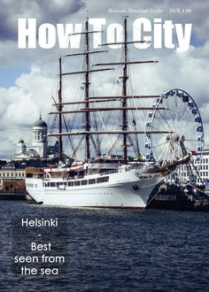 Ad for Helsinki Practical Guide by How To City. (Not the actual cover.)