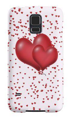 Balloon Hearts by #Gravityx9 #Redbubble