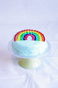 #Rainbow #wedding Cake