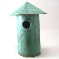 another bird house--love this artist's work