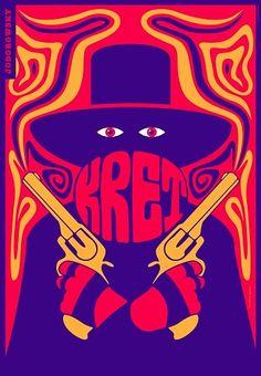 El Topo, Jodorowsky, Polish Movie Poster: Polish Posters Shop