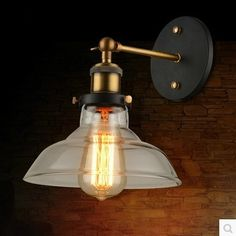 44.49$  Watch now - http://ali0io.shopchina.info/go.php?t=32367163973 - Retro Edison Wall Sconce Style Loft Industrial Vintage Wall Lamp Indoor Lighting Wall lights For Home 44.49$ #aliexpresschina