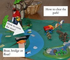 Easy Little Red Riding Hood Activity. Map reading and problem solving with Little Red Riding Hood.