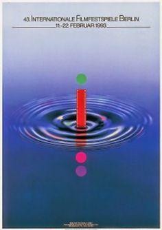 Berlinale | 1993 | Poster | Volker Noth