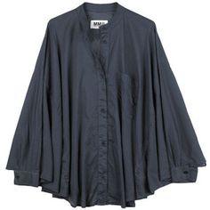 batwing shirt, margiela