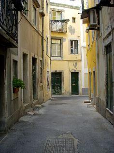 Lisbon Streets III by LadyGeorgie.deviantart.com