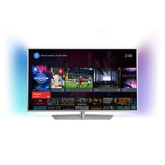 """Buy Philips 40PFT6510 LED HD 1080p 3D Android TV, 40"""" with Freeview HD, Built-In Wi-Fi & Intuitive Remote Online at johnlewis.com"""
