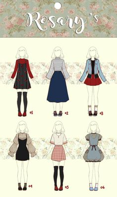 Fashion sketches 747105025666408638 - (CLOSED) Other Casual Outfit Adoptable by Rosariy on DeviantArt Source by Kleidung Design, Casual Outfits, Cute Outfits, Casual Clothes, Diy Outfits, Diy Clothes, Fashion Clothes, Casual Dresses, Fashion Dresses