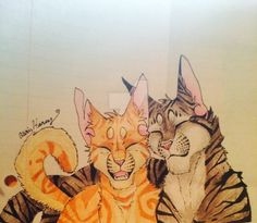 Squirrelflight and Bramblestar