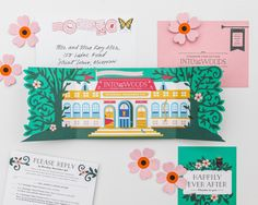 A behind-the-scenes peek at the stationery design work of Cheree Berry Paper – including a peek at their new retail line with Galison Gifts! Gala Invitation, Custom Invitations, Invites, Invitation Cards, Wedding Invitation, Stationery Design, Wedding Stationery, Conceptual Design, Design Show