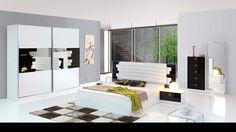Milan Modern Yatak Odası Takımı Beyaz
