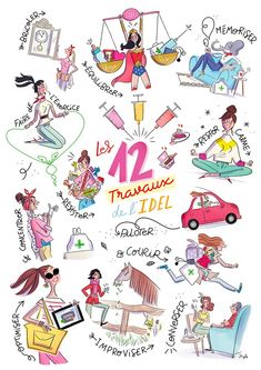 Illustrations, Illustration Art, Never Grow Up, Life Philosophy, Happy Girls, Cute Drawings, Amazing Art, Book Art, My Books