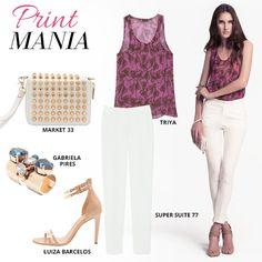 Compre moda com conteúdo, www.oqvestir.com.br #Fashion #Market33 #Triya #Luizabarcelos #SuperSuite77 #AnimalPrint #GabrielaPires #Pretty #Summer #Looks