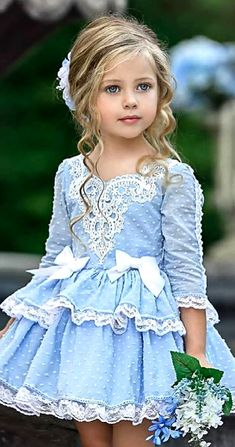 la petite wardrobe dress by Irina Chernousova on Dresses Kids Girl, Little Girl Dresses, Cute Dresses, Kids Outfits, Flower Girl Dresses, Dresses Dresses, Fashion Dresses, Baby Dress, Toddler Girl