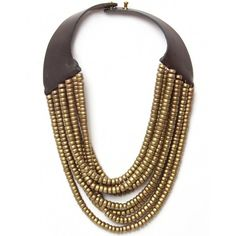 Women's Hoss Intropia Short Multi Strand Beaded Necklace ($100) ❤ liked on Polyvore
