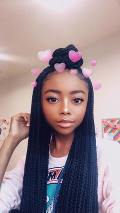 Baddie Hairstyles Cornrows To Make A Real Statement - My list of the most creative hairstyles Old Hairstyles, Baddie Hairstyles, Creative Hairstyles, Box Braids Hairstyles, Black Girls Hairstyles, Summer Hairstyles, Skai Jackson, Summer Braids, Divas