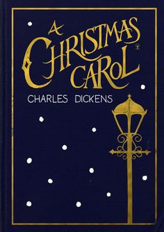 Book cover for A Christmas Carol | Charles Dickens | Holly Dunn Design