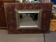 """And here's another fabulous mirror.... 36 1/2"""" x 48"""" and just $185, we LOVE IT! At Black Pearl Emporium"""