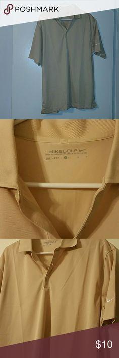 Nike Golf Polo Shirt Dri-fit Nike Golf  Polo Shirt Nike Shirts Polos