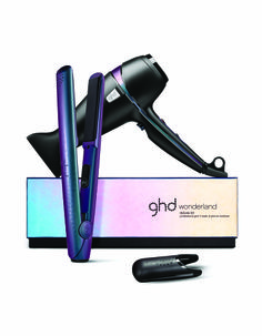 """The ghd Wonderland Elite Kit - a 1"""" gold series styler and ghd air professional performance hairdryer"""