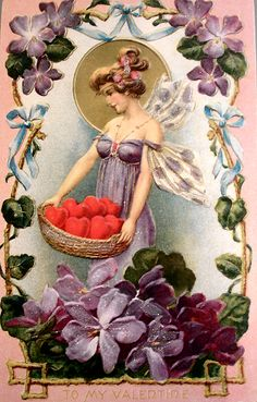 Moonlight & Roses vintage Valentines board