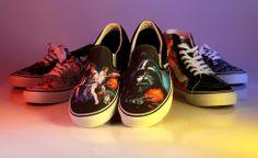An exclusive look at the new Vans x Star Wars collection #vans #starwars