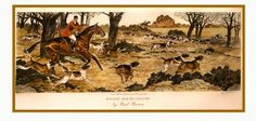 Paul Brown horse painting foxhunting