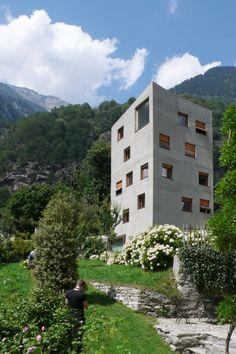 Villa Garbald - miller & maranta - gottfried semper - Castasegna - switzerland