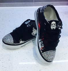d3a4c692649f5c Excited to share this item from my  etsy shop  Star Wars Inspired Sneakers