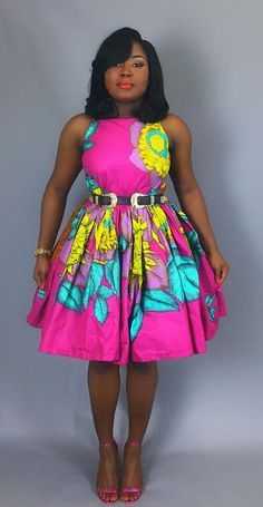 New Dress Cocktail Classy Floral Prints Ideas African Attire, African Wear, African Women, African Dress, African Clothes, African Style, African Inspired Fashion, Latest African Fashion Dresses, African Print Fashion