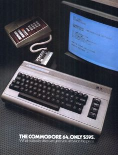 Commodore 64 Personal Computer 1982