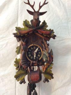 Vintage Black Forest Cuckoo Clock | eBay